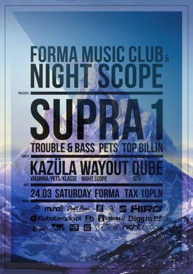 Night Scope with Supra1
