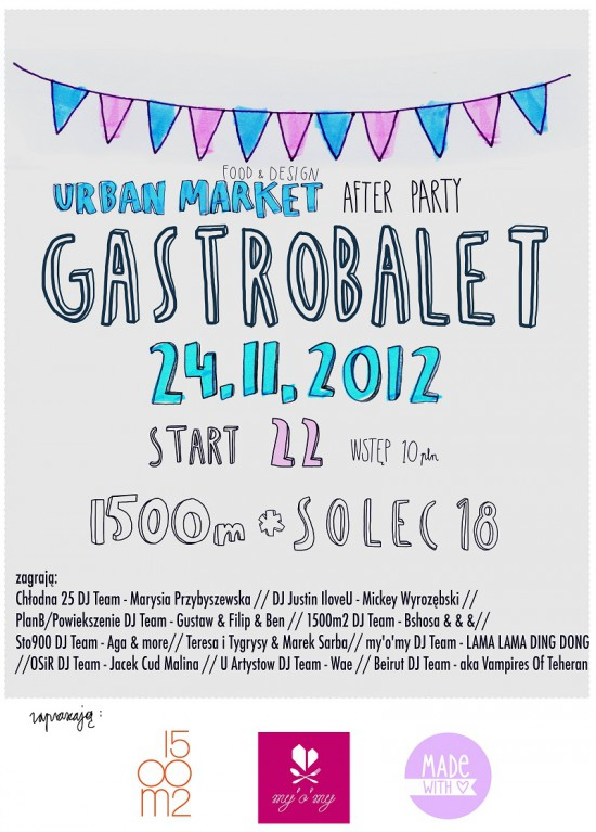 Gastrobalet - Urban Market Afterparty