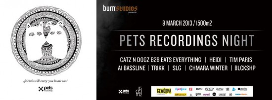 Burn Studios pres. PETS RECS NIGHT