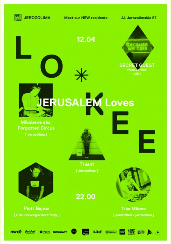 Jerusalem loves Lo*kee London | New Residents Night / Spacer przez Jerozolimę