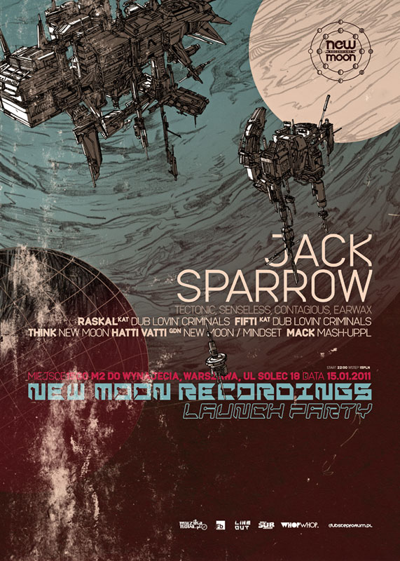 New Moon Recordings Launch Party
