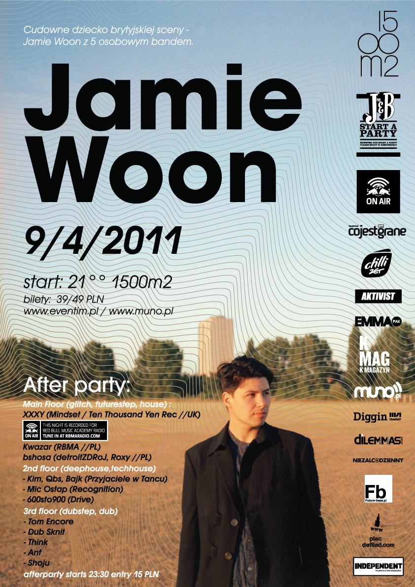 Jamie Woon & XXXY @ 1500m2