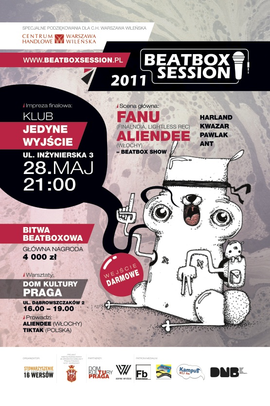 plakat - Beatbox Session 2011