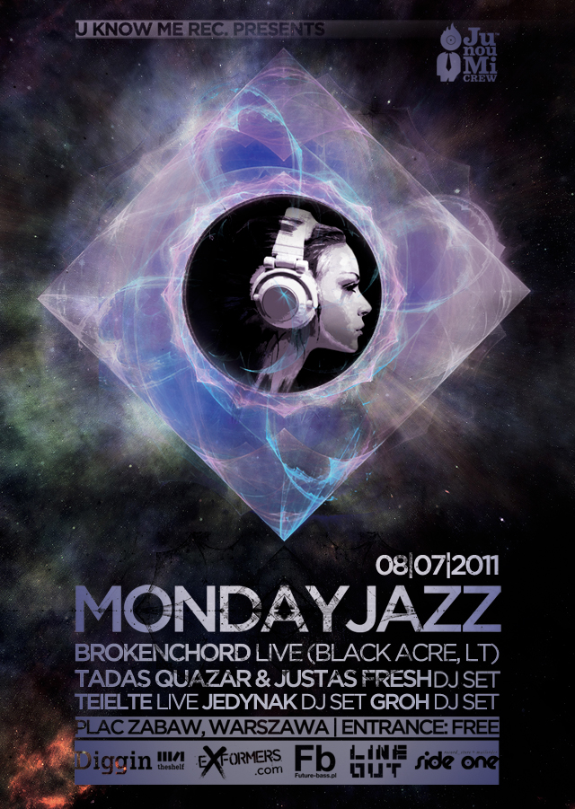 U Know Me Records presents: Mondayjazz & Brokenchord