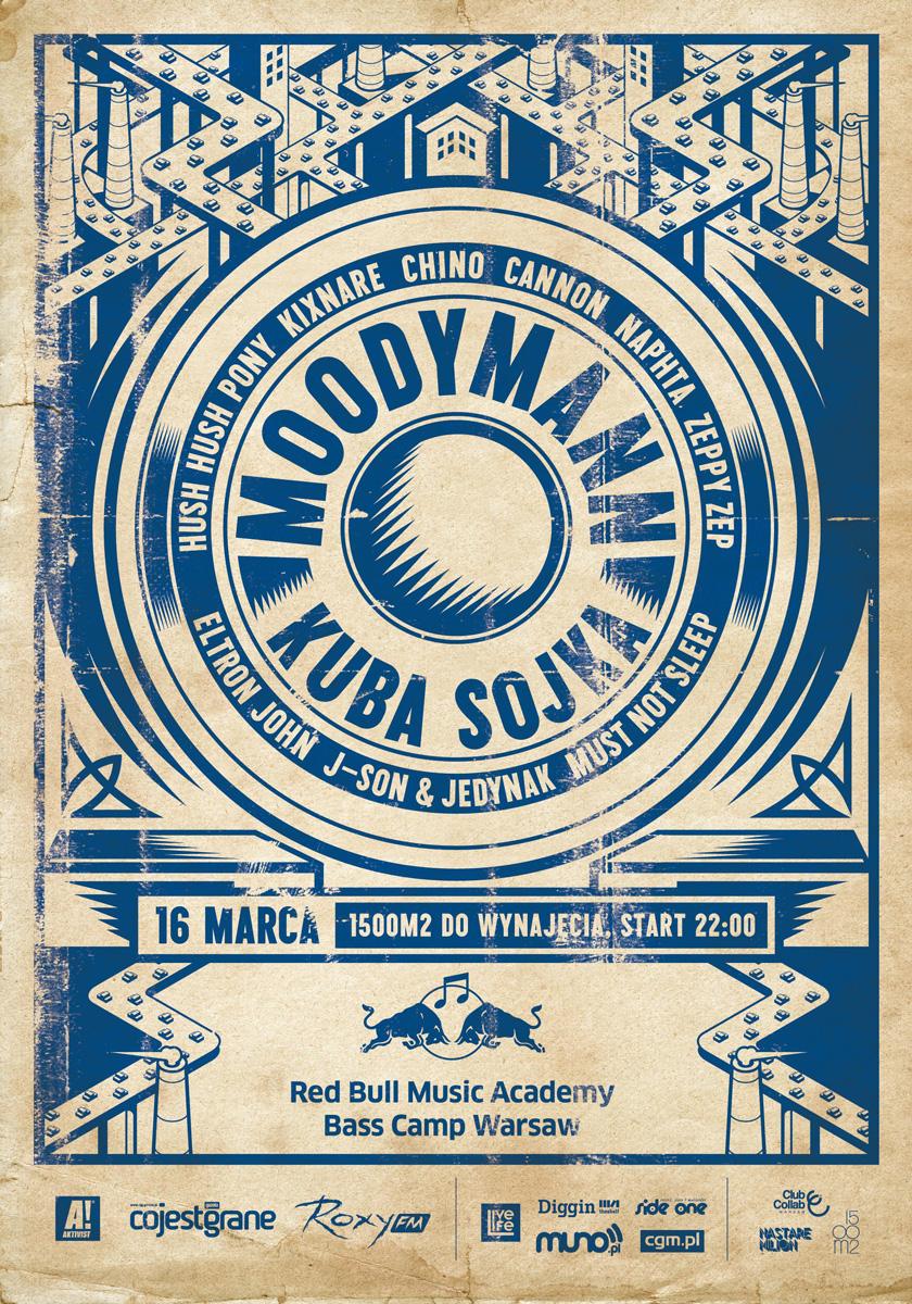 Red Bull Music Academy Bass Camp : Moodyman