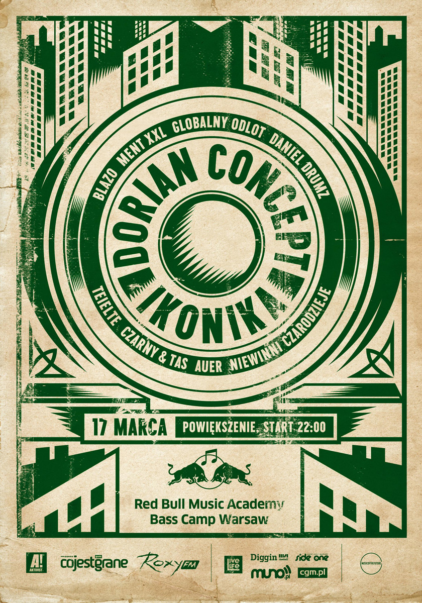 Red Bull Music Academy Bass Camp : Dorian Concept & Ikonika