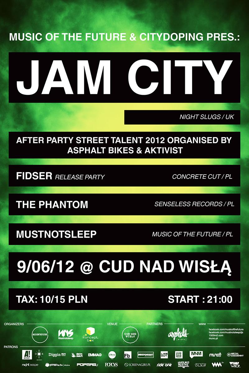 MUSIC OF THE FUTURE & CITYDOPING presents: JAM CITY (UK)