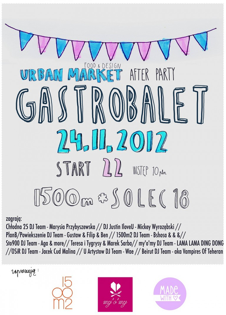 Gastrobalet – Urban Market Afterparty
