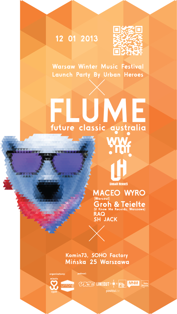 FLUME: Warsaw Winter Music Festival Launch Party By Urban Heroes