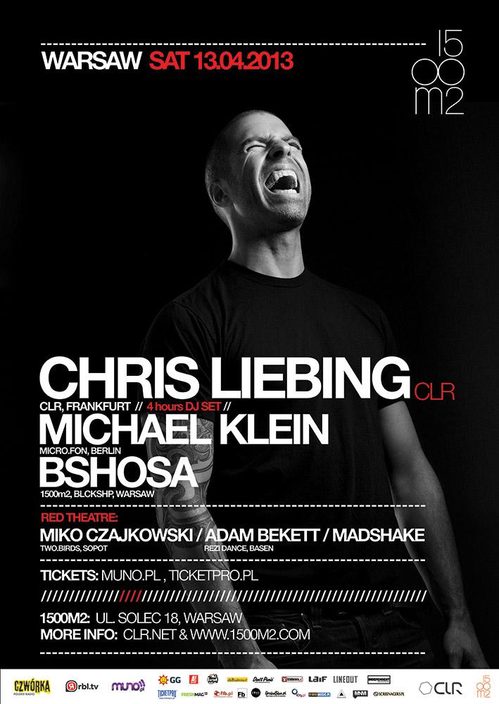 Chris Liebing @ 1500m2