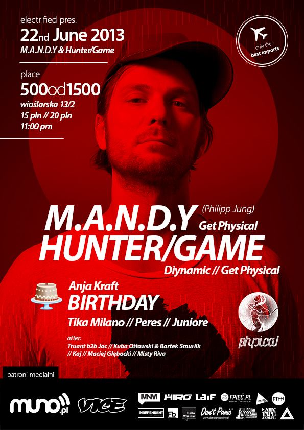 Electrified pres M.A.N.D.Y & Hunter/Game