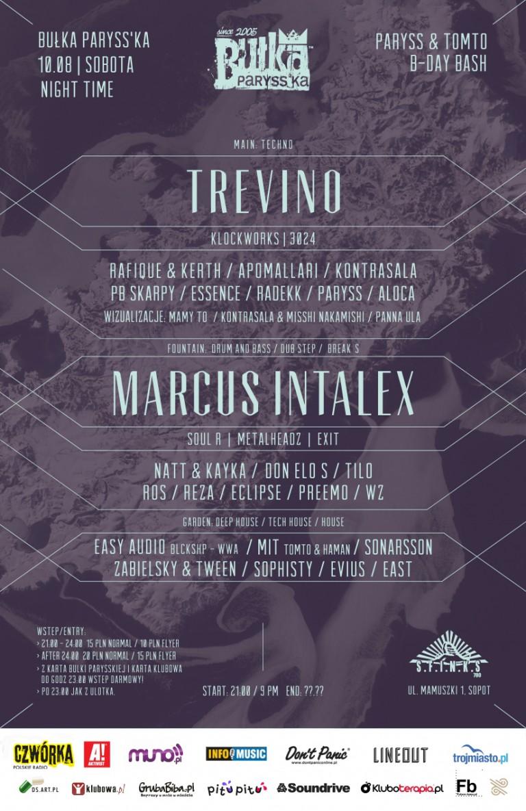 Bułka PARYSS'KA: Trevino I Marcus Intalex