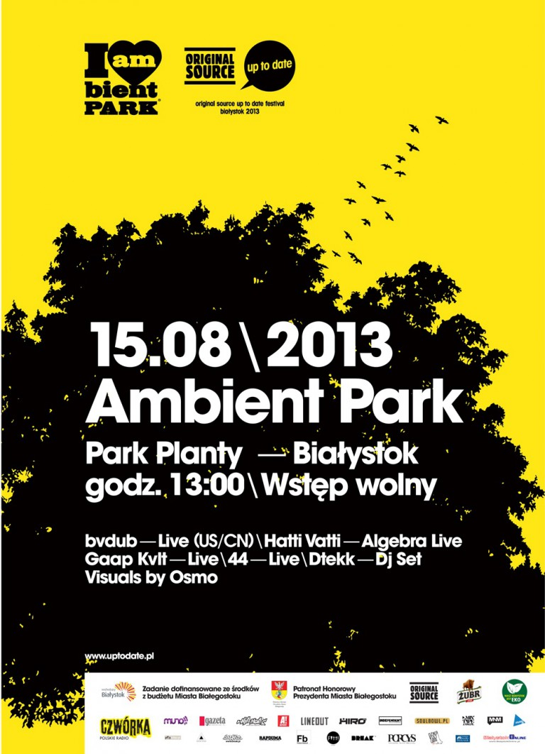 Ambient Park przed Original Source Up To Date Festival