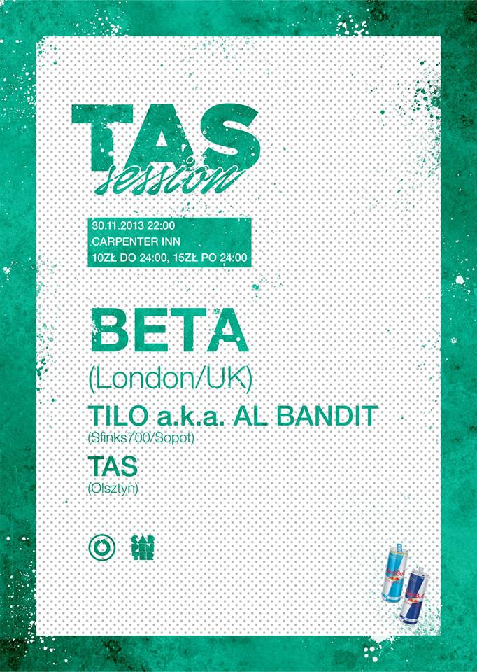 TAS Session with BETA