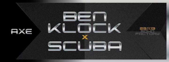 Ben Klock x Scuba