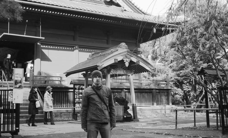 Marat i jego pamiątka z Tokio
