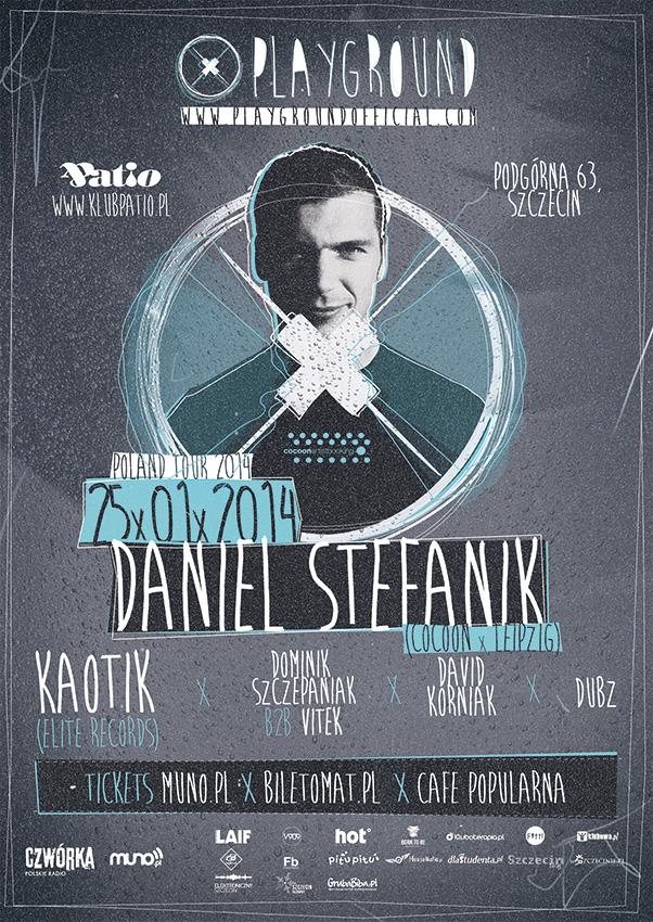Daniel Stefanik w Szczecinie