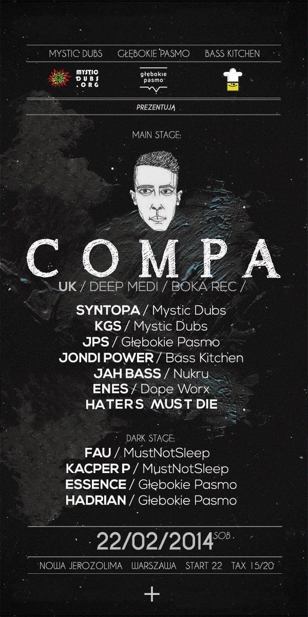 Compa (Deep Medi, Boka Records, Kokeshi)
