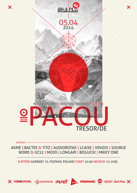Noise Control & Tanztone Records pres. Pacou