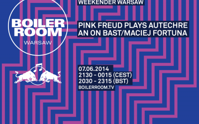 Boiler Room podczas RBMA Weekender Warsaw