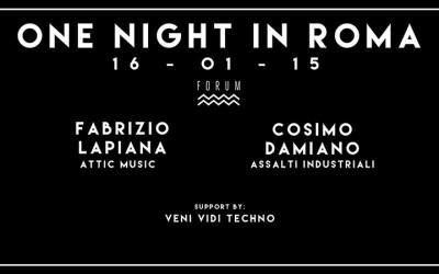 ONE NIGHT IN ROMA – relacja z imprezy