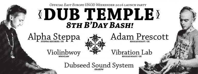 8 urodziny Dub Temple w Krakowie