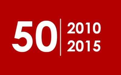 50 najlepszych albumów 2010 – 2015