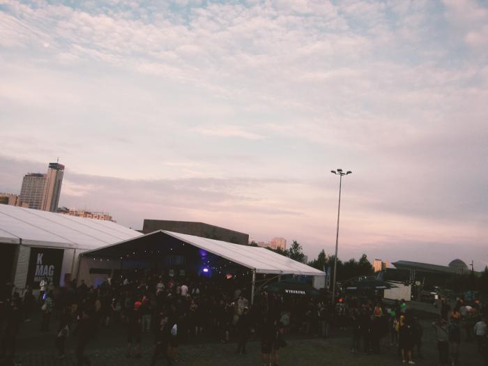 K Mag x Wyborowa Stage, Robag Wruhme, Festiwal Tauron Nowa Muzyka Katowice 2016