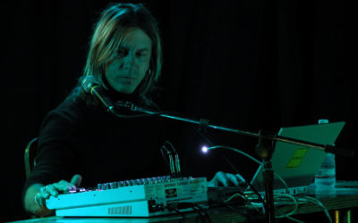William Basinski na koncercie zamknięcia Tauron Nowa Muzyka