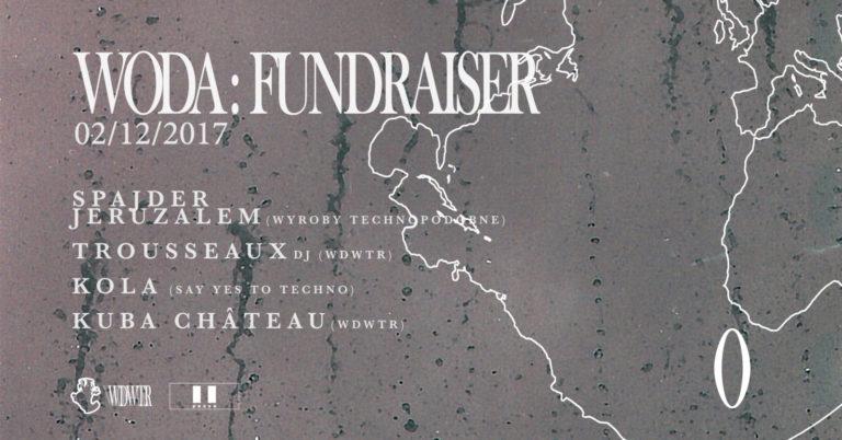 WODAWATER – Nowy label i cykl imprez w Krakowie